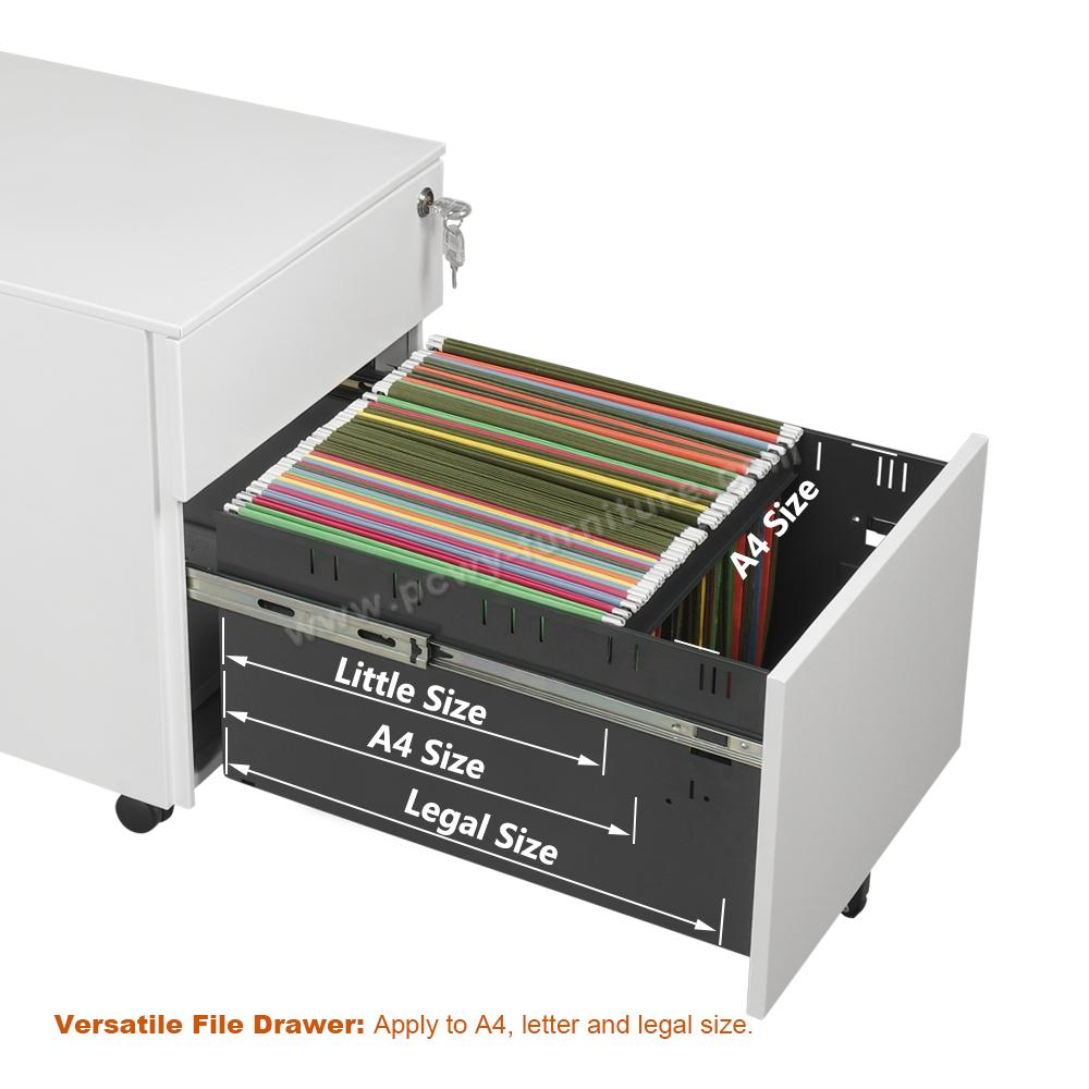 Pengcheng 2 drawer metal file cabinet