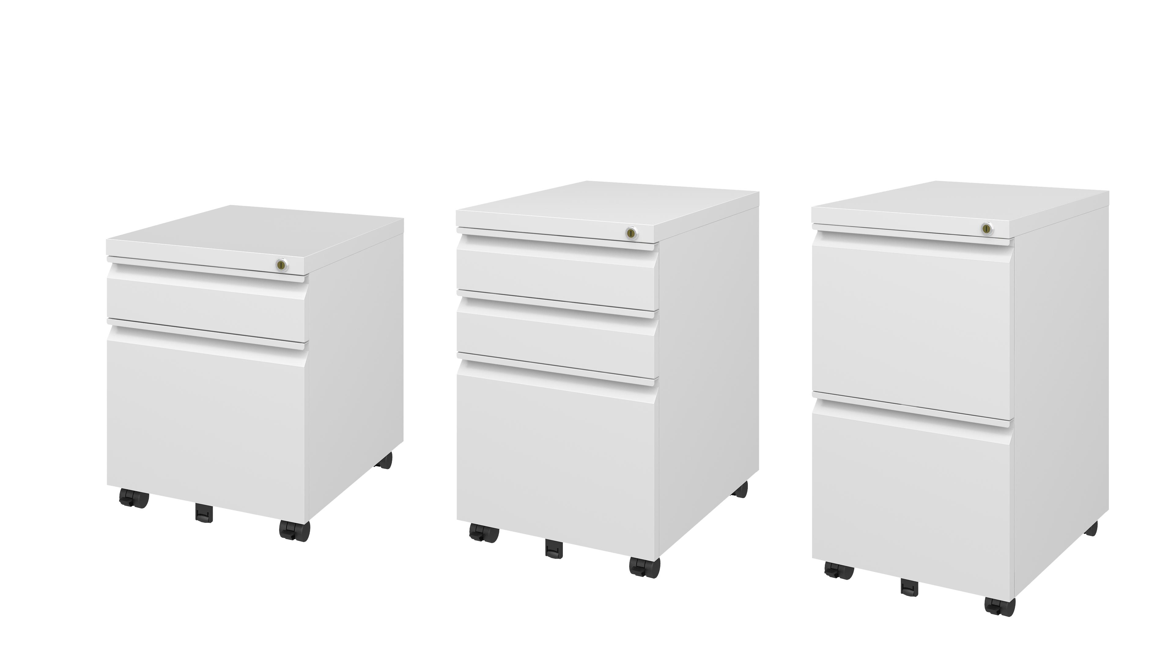 Pengcheng under desk cabinet with Gooseneck handle - PCP-390D