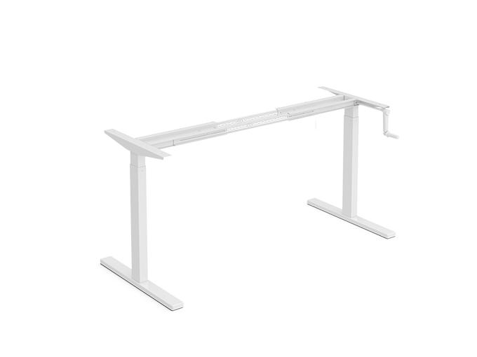 Pengcheng Front Manual Crank height adjustable desk frame