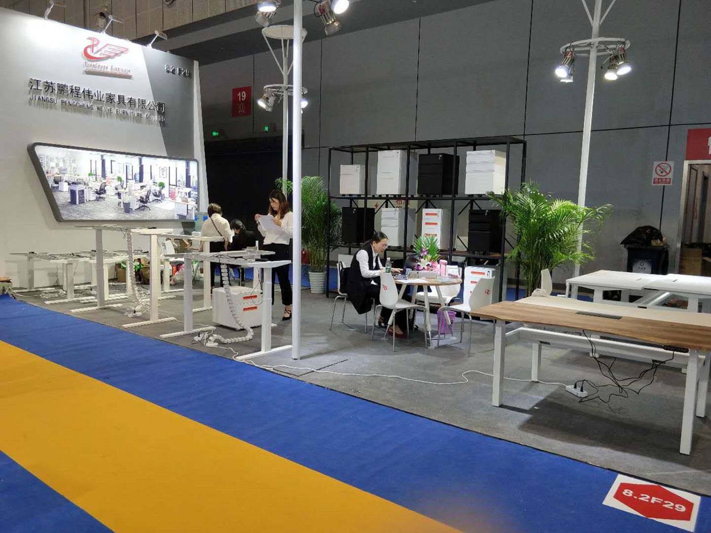 Pengcheng furniture on 2018 CIFF Shanghai