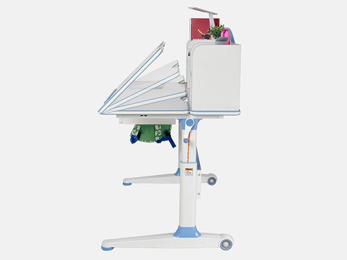 Manual lifting tilting desktop, flat to 85 degree