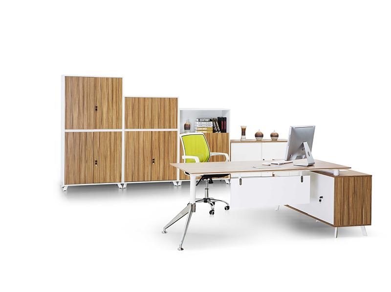 Pengcheng ED02 Office Wooden Boss Executive Desk