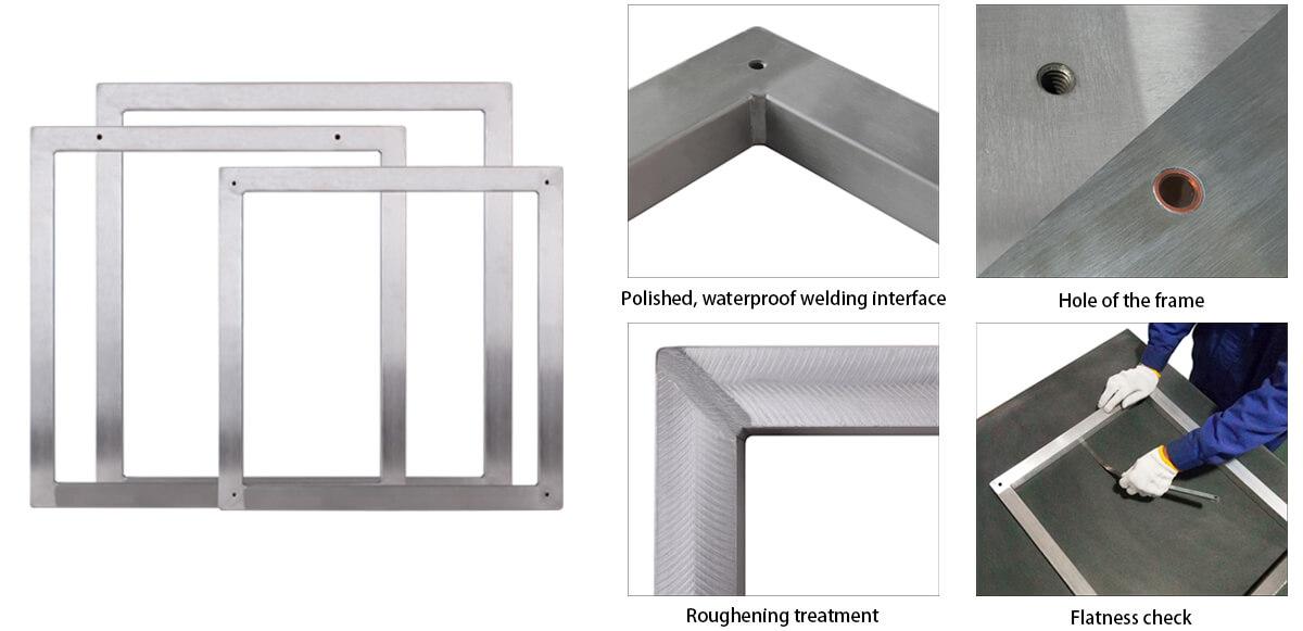 smt aluminum frame, SMT stencil, SMT stencil frame